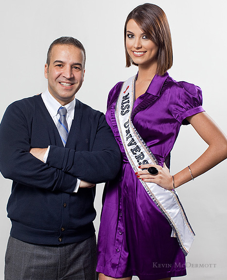 Jesus Aguais and Stefania Fernandez (Miss Universe) in Interview by Poz Magazine