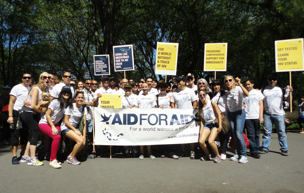 Thank You For Being Part Of Our Aids Walk Campaign 2012