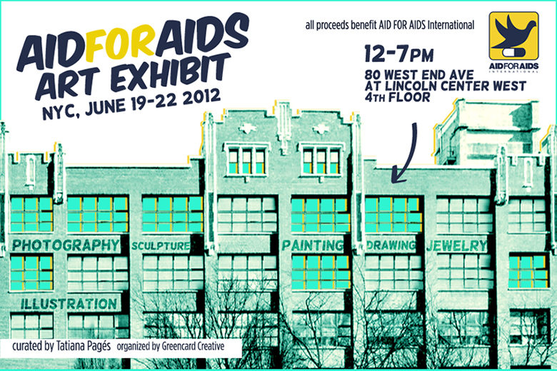 AID FOR AIDS to host NYC Art Exhibit