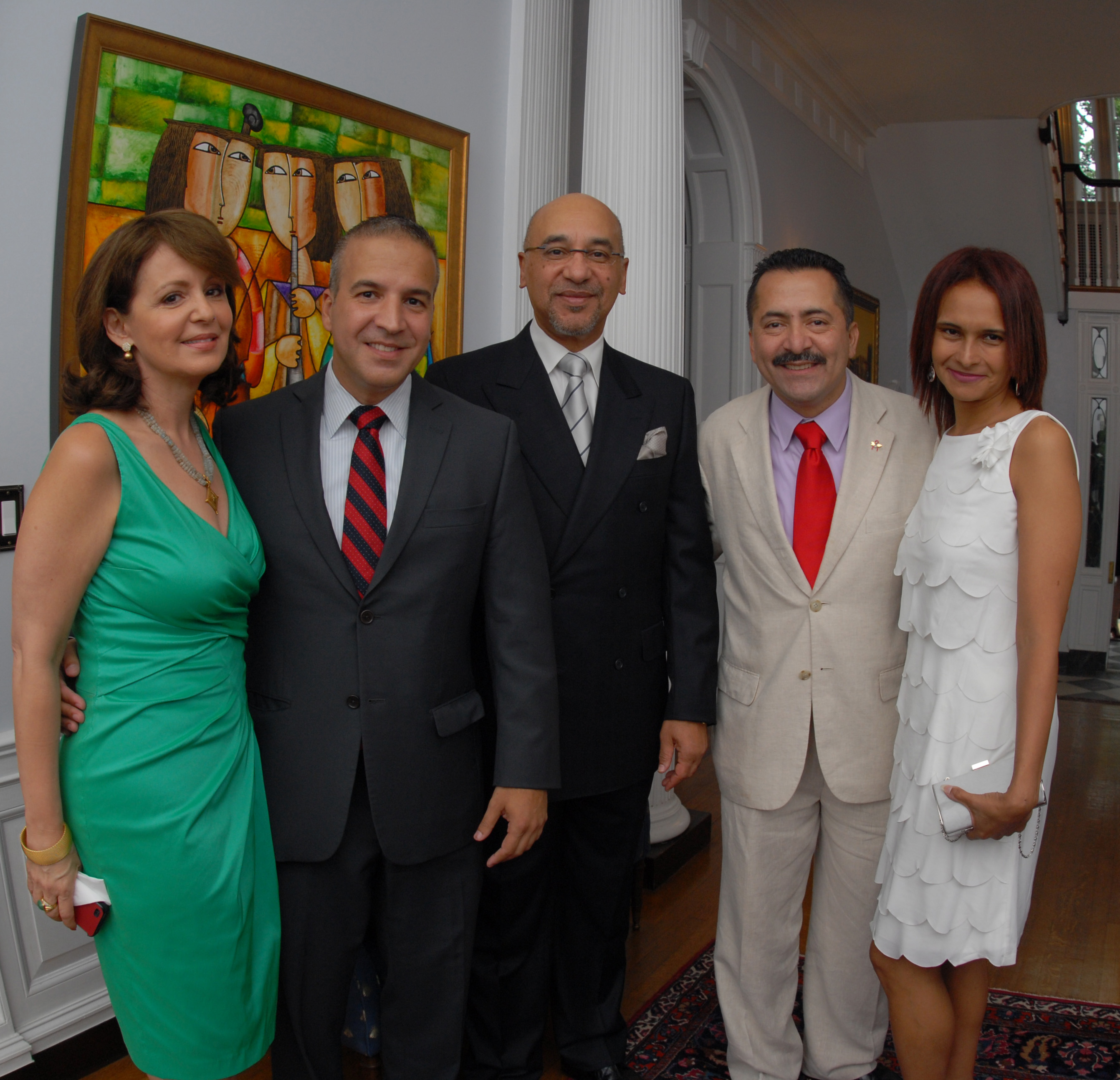 Dominican Ambasador celebrates Work of AFAI and LCOA