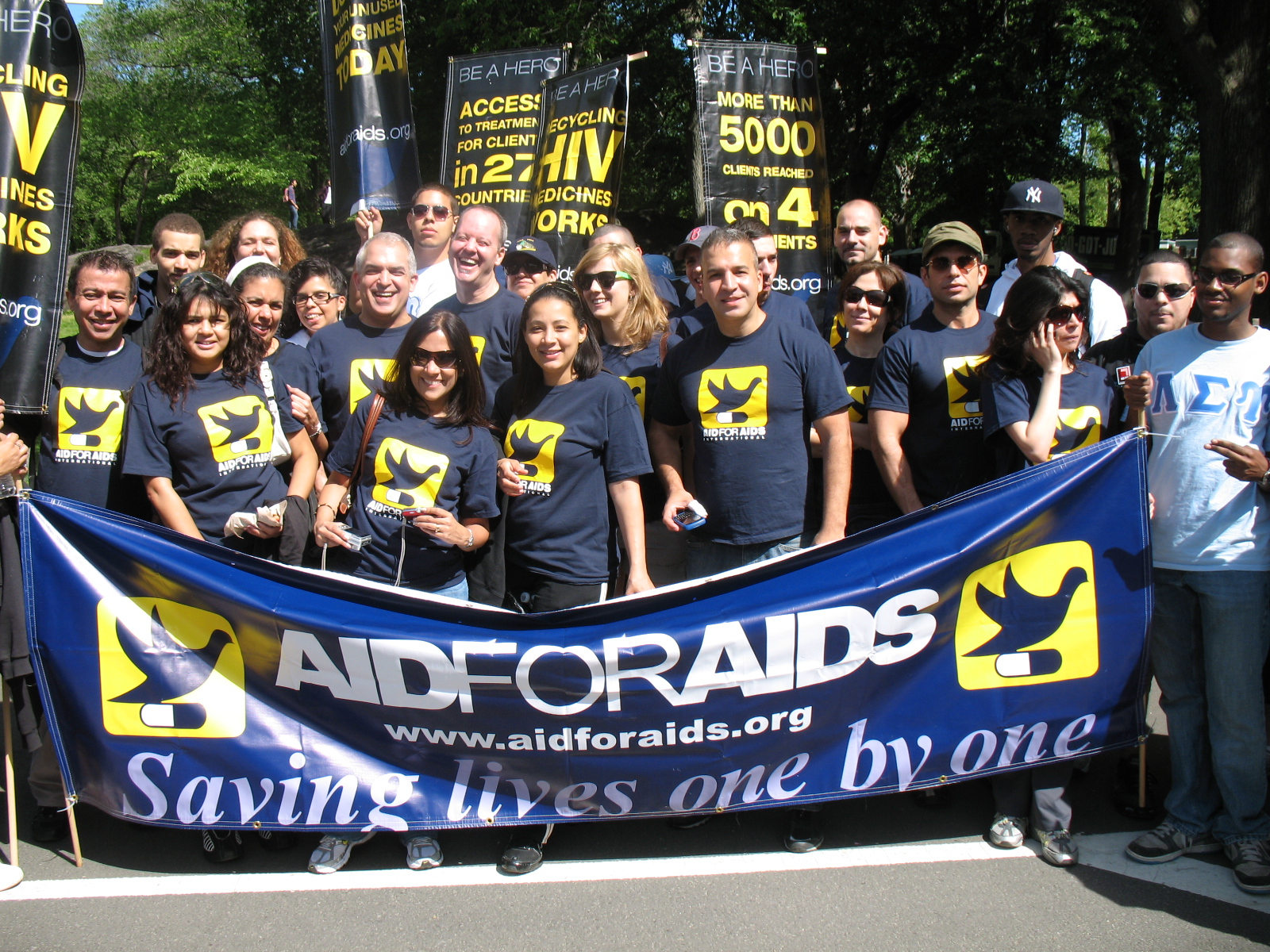 AFAI Celebrated AIDS WALK 2010