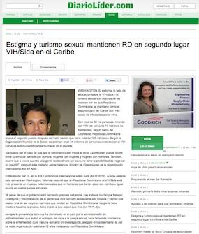 Estigma y turismo sexual mantienen RD en segundo lugar VIH/Sida en el Caribe