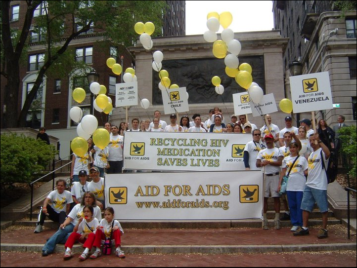 Give The Gift of Life This Spring – Help AID FOR AIDS Raise Funds Through AIDS Walk