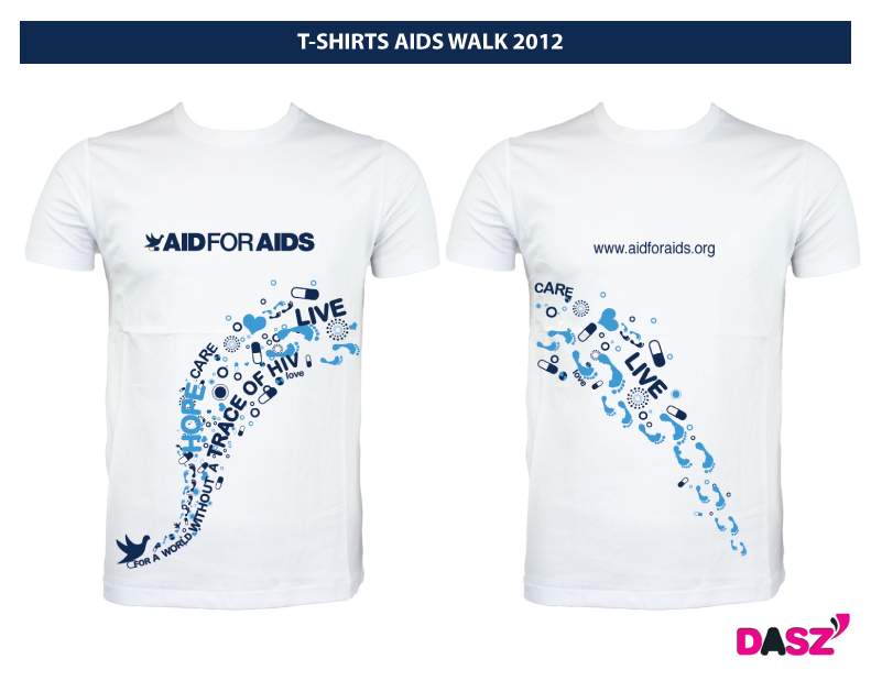 AIDS WALK team, we want to show you the goodies!