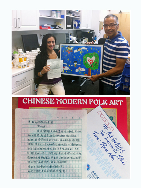 AFAI receives a special delivery from our beneficiaries in China