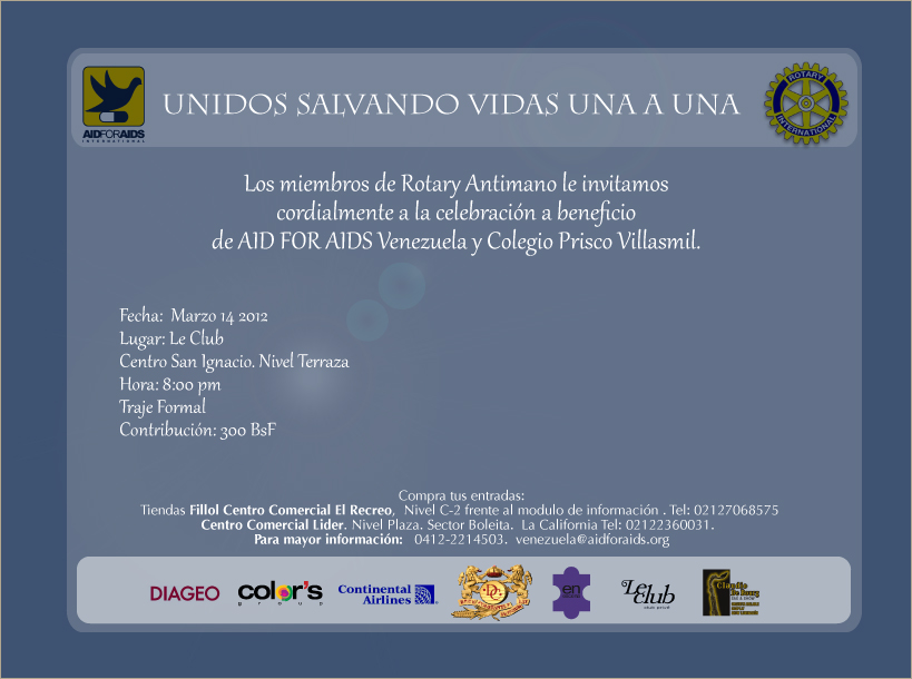Saving lives one by one, AID FOR AIDS Venezuela's first event of the year