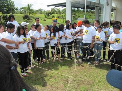 Jóvenes Líderes en la Prevención del VIH se congregan en Panamá