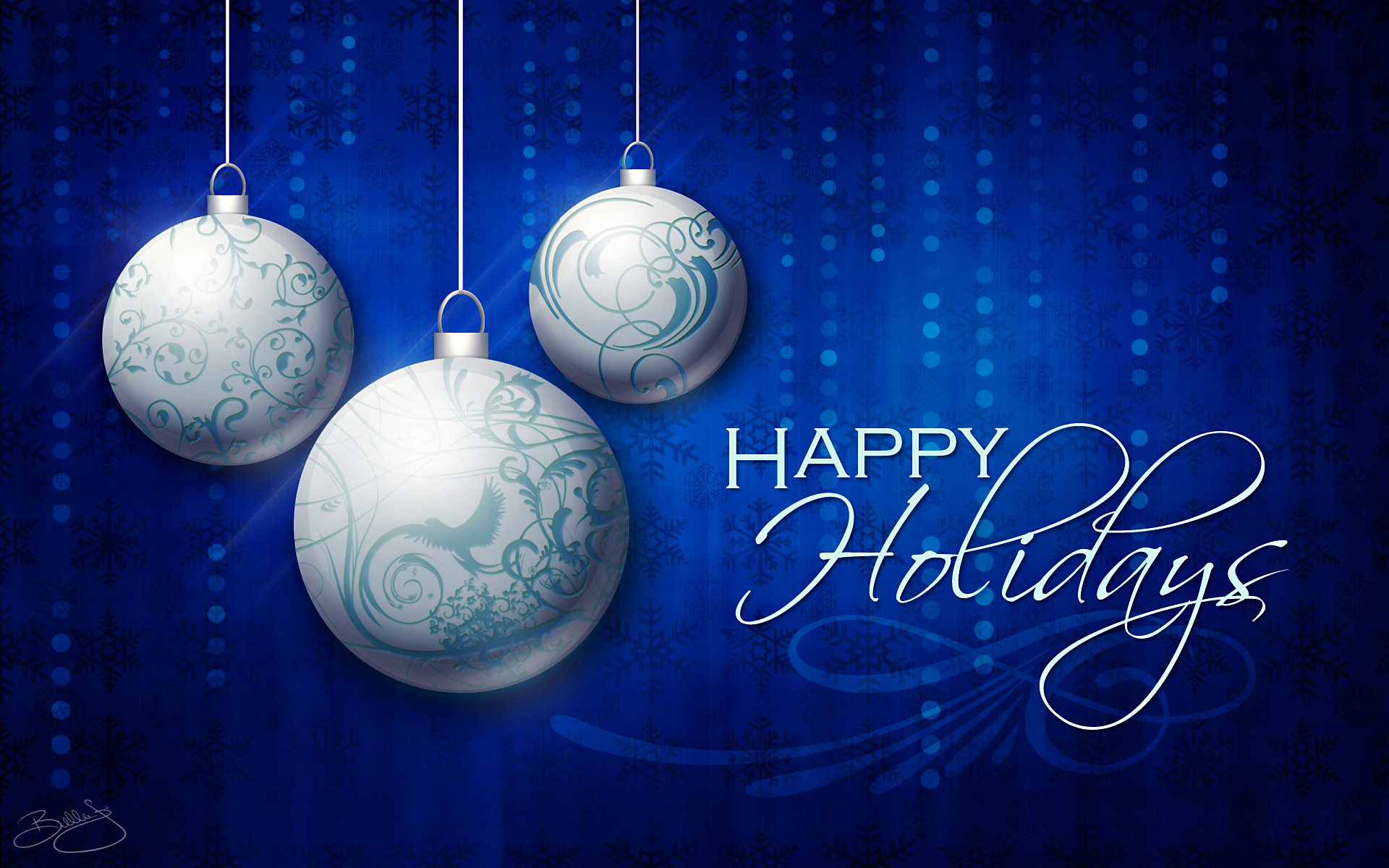 Wishing You and Yours a Happy Holiday Season!