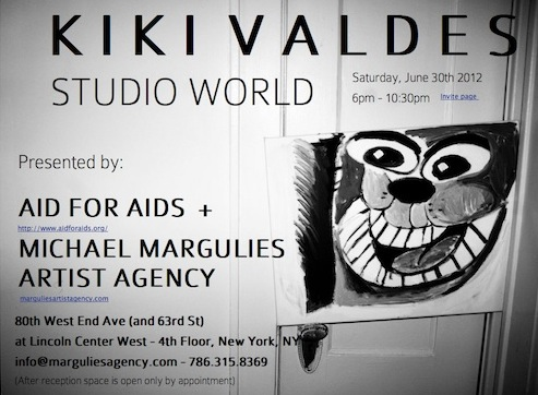 Kiki Valdes and the Michael Marguiles Artist Agency bring you Studio World this Saturday June 30