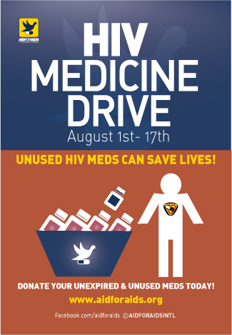 Second Annual HIV Medicine Drive